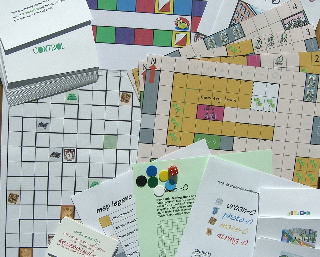 Orienteering board games